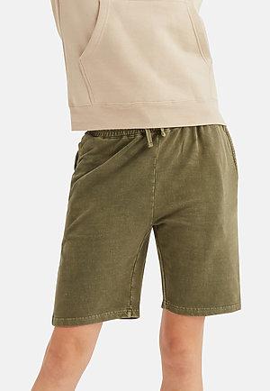 Vintage Shorts VINTAGE OLIVE frontw