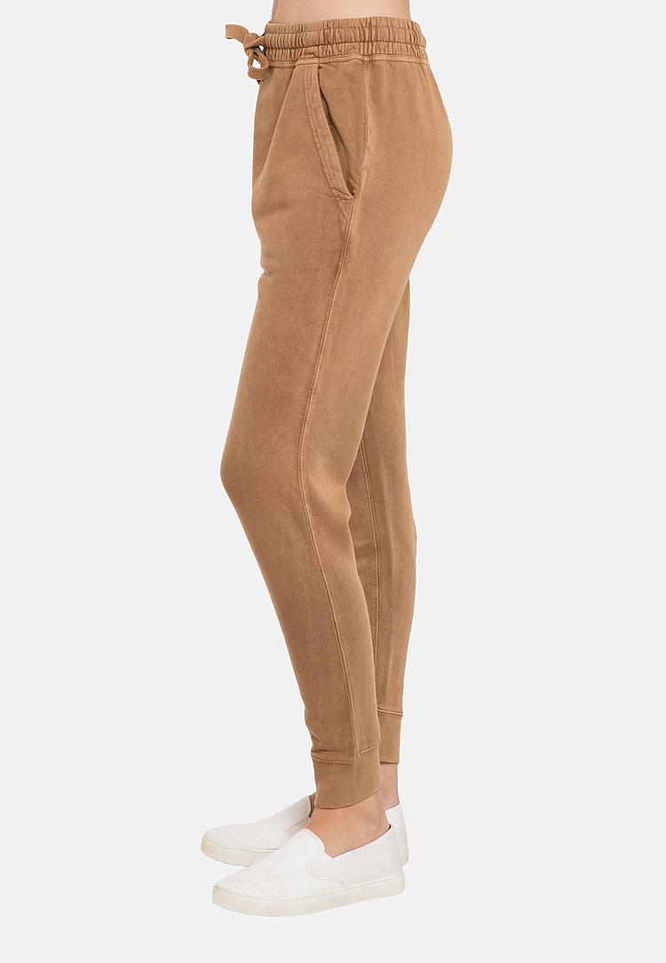 Vintage Joggers VINTAGE CAMEL sidew
